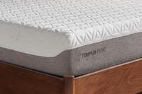 Corner of a tempur-cloud prima mattress